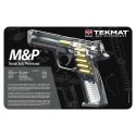 TekMat Handgun Cleaning Mat M&P Cut Away