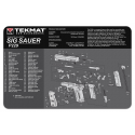 TekMat Ultra Premium Handgun Cleaning Mat P229