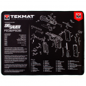 TekMat Ultra Premium Handgun Cleaning Mat P238