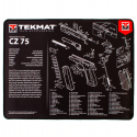 TekMat Ultra Premium Handgun Cleaning Mat CZ-75