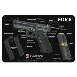 TekMat Handgun Cleaning Mat Glock Cut Away