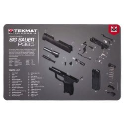 TekMat Handgun Cleaning Mat P365