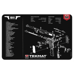 TekMat Handgun Cleaning Mat 1911