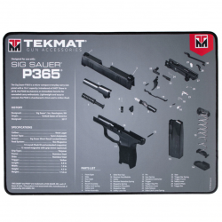 TekMat Ultra Premium Handgun Cleaning Mat P365