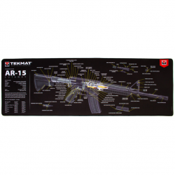 TekMat Ultra Premium Rifle Cleaning Mat AR-15 Cut Away