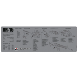 TekMat Long Gun Cleaning Mat AR-15 (Gray)