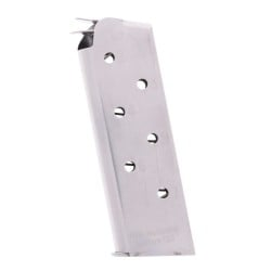 Chip McCormick 1911 Match Grade Compact .45 ACP 7-Round Magazine Left View