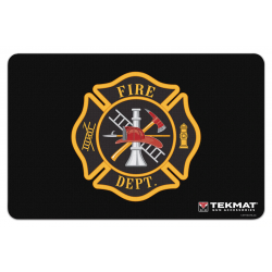 TekMat Handgun Cleaning Mat Fireman's Shield