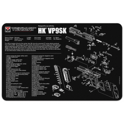 TekMat Handgun Cleaning Mat H&K VP9SK