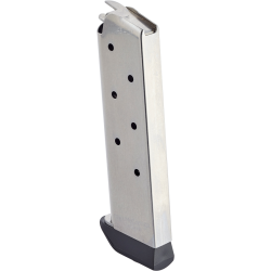CMC Products Classic Series 1911 .45 ACP 7-Round Stainless Steel Magazine With Pad Back