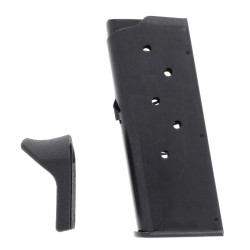 Remington RM380 .380 ACP 6-Round Magazine with Finger Rest Left View With Finger Rest