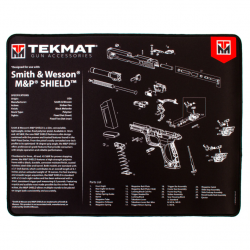 TekMat Ultra Premium Handgun Cleaning Mat MP Shield