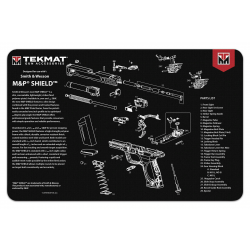 TekMat Handgun Cleaning Mat M&P Shield