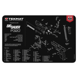 TekMat Handgun Cleaning Mat P320