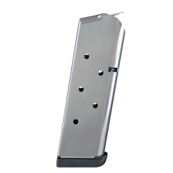 Check-Mate 1911 Sub-Compact 9mm 7-Round Stainless Steel Magazine