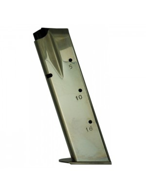 CZ CZ75 CZ85 9MM 16-Round Chrome Plated Magazine