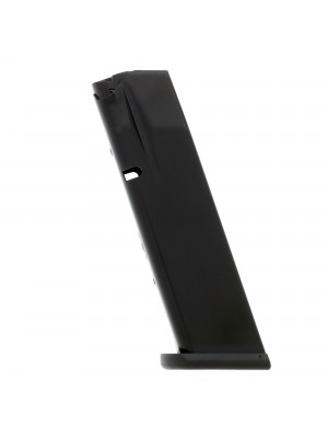Brugger & Thomet B&T USW-A1 9mm 17-Round Blued Steel Magazine Left View