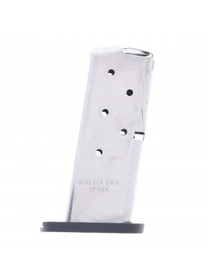 Beretta Nano 9mm 6-Round Stainless Steel Magazine Right