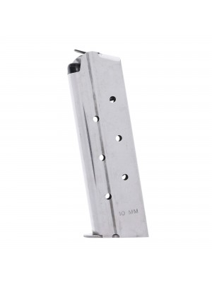Check-Mate 1911 10mm 8-Round Stainless Steel Magazine Left