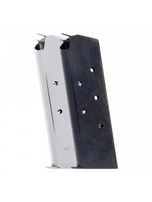 Check-Mate 1911 .45 ACP 7-Round GI Magazine SS BLK Colors