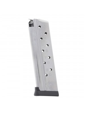 CMC Products Range Pro Full-Size 1911 9mm 10-Round Stainless Steel Magazine