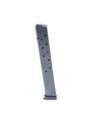 ProMag 1911 .45 ACP 15-round Government, Commander Magazine Blued Steel
