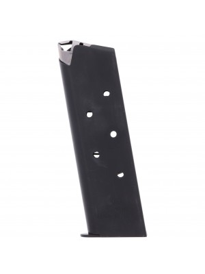 Auto Ordnance 1911 .45 ACP Blue Steel, Non-Removable Baseplate 7-Round Magazine Left View