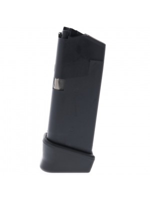 Glock Gen 4 Glock 27 40 S&W 10-Round w/ finger rest Factory Magazine (gunmagwarehouse®) MF00285 Left View