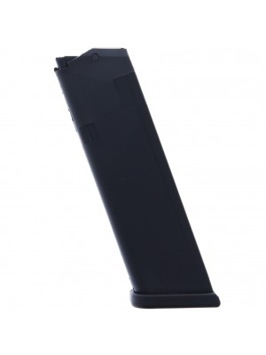 Glock Gen 4 Glock 17,  34 9mm Luger 10-Round Factory Magazine (gunmagwarehouse®) MF10117 Left View