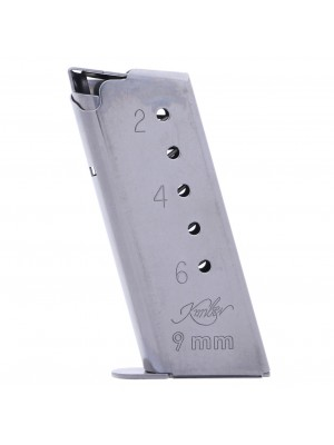 Kimber Solo 9mm Stainless Steel 6-Round Magazine (gunmagwarehouse®) 1200037A