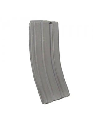 DPMS AR-15 .223/5.56 30-Round Gray Mil-Spec Magazine w/ Magpul Follower Right View