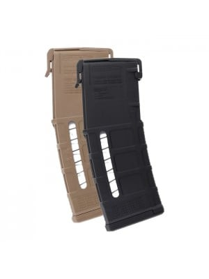 Magpul PMAG GEN M3 Window AR-15 .223/5.56 30-Round Magazine Left View Colors Combined