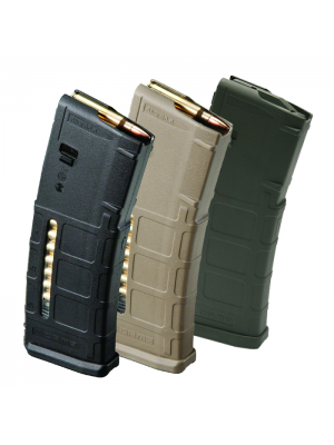 Case of 100 Magpul PMAG GEN M2 MOE Window AR-15 .223/5.56 30-Round Magazine