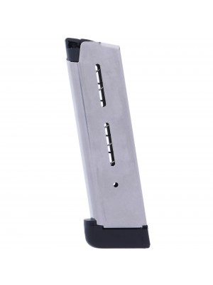 Wilson Combat 1911 .45 ACP 8-Round Magazine With Extended Base Pad Left View