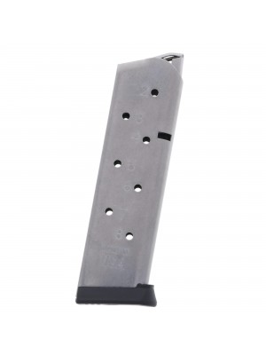 Metalform Pro Series 1911 .45 ACP 8-Round Stainless Steel Magazine Right