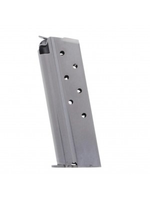 Metalform Officers 1911, .40 S&W, Stainless Steel 7-Round Magazine Left