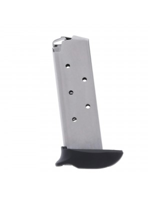 Metalform Sig Sauer P238, .380 ACP Stainless Steel (Welded Base & Flat Follower) 7-Round Magazine left