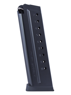Mec-Gar 1911 9mm 10-Round Anti-Friction Magazine Left View