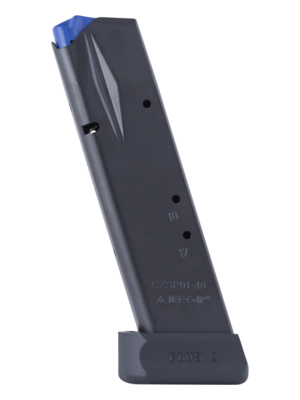 Mec-Gar CZ 75B 85B SP-01 Shadow .40 S&W 14-Round Magazine Left View