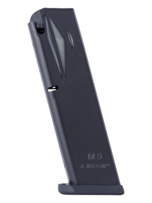 Mec-Gar Beretta 92FS M9 9mm 18-Round Anti-Friction Magazine Left View