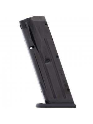 Mec-Gar Witness Large Frame 9mm 10-Round Blue Steel Magazine Left View