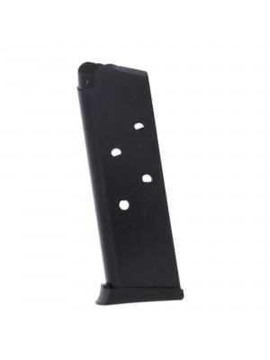 ProMag 1911 Officer's Model, .45 ACP Blued Steel 6-round Magazine Left view