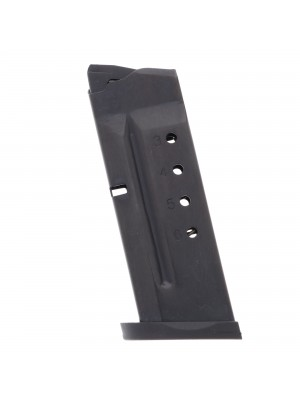 ProMag Smith & Wesson Shield .40 S&W 6-Round Blue Steel Magazine Left View