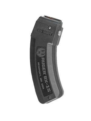 Ruger BX-15 10/22 Charger .22LR 15-Round Magazine