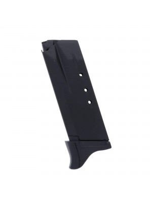 Ruger SR40C 40 S&W 9-Round Blued Steel Magazine with Extended Floorplate Left View