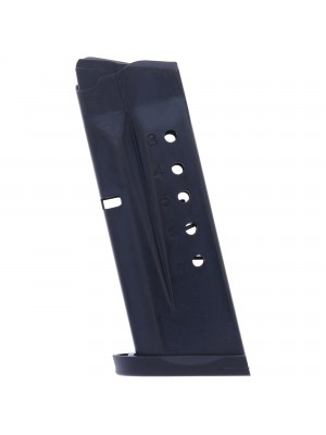 ProMag Smith & Wesson Shield 9mm 7-Round Blue Steel Magazine Left View