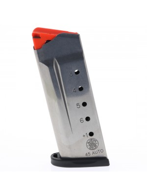 Smith and Wesson Magazine 45 ACP 6 Round Left