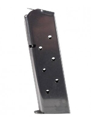 Colt 1911 .45 ACP 8-Round Stainless Steel Magazine Left View