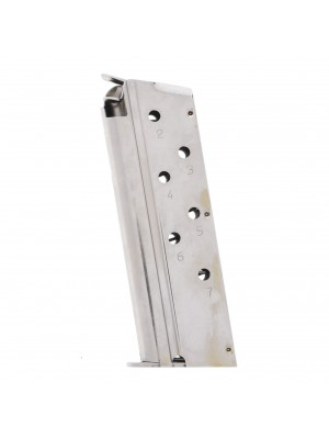 Springfield Armory 1911 .40 S&W 7-Round Micro Compact Factory Magazine Stainless Steel Left