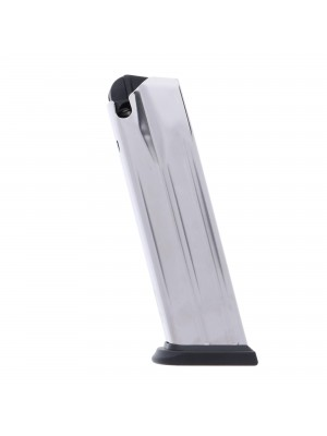 Springfield Armory XDM 9mm Luger 19-Round Factory Magazine Stainless Steel Left View